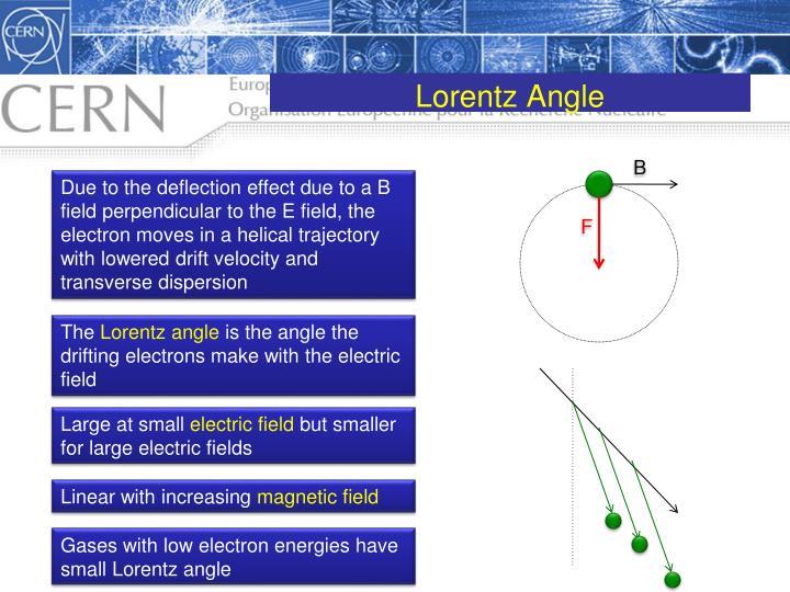 Lorentz Angle