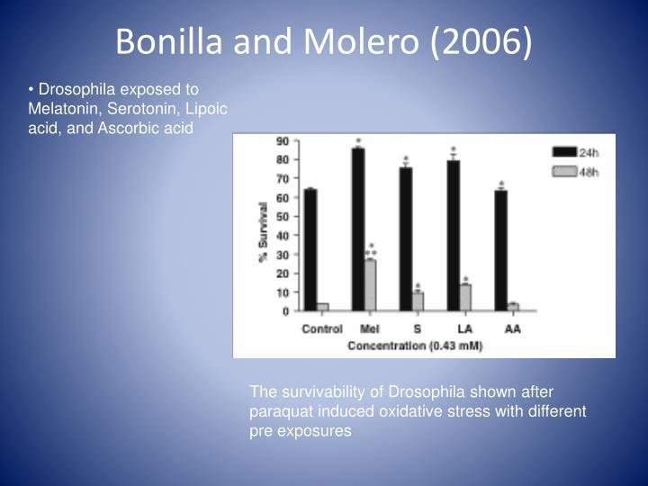 Bonilla and Molero (2006)