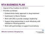 nta business plan