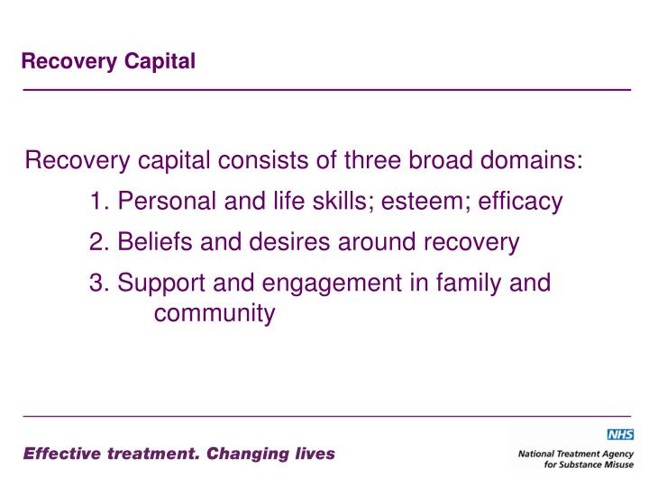 Recovery Capital
