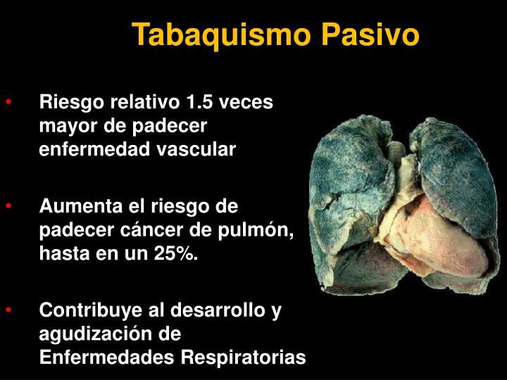 Tabaquismo Pasivo