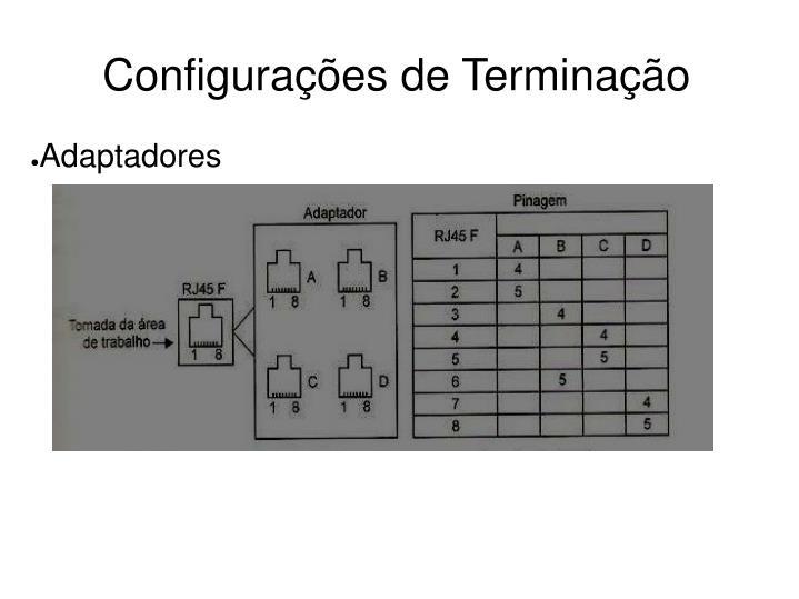 Configurações de Terminação