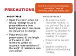 precautions1