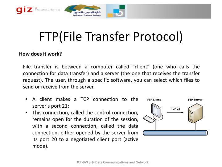 FTP(File Transfer Protocol)