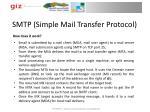 smtp simple mail transfer protocol1