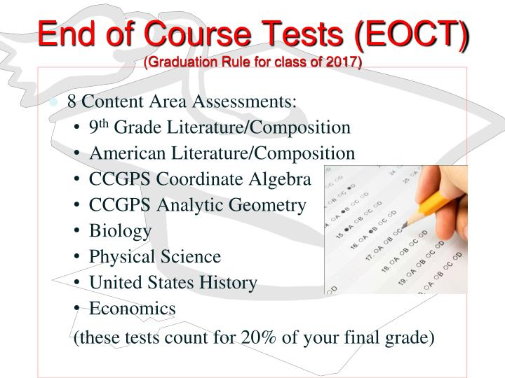 End of Course Tests (EOCT)