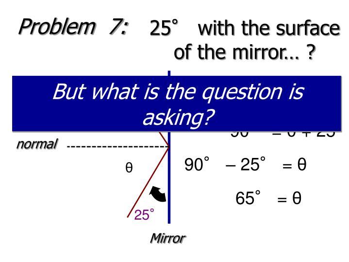 Problem  7: