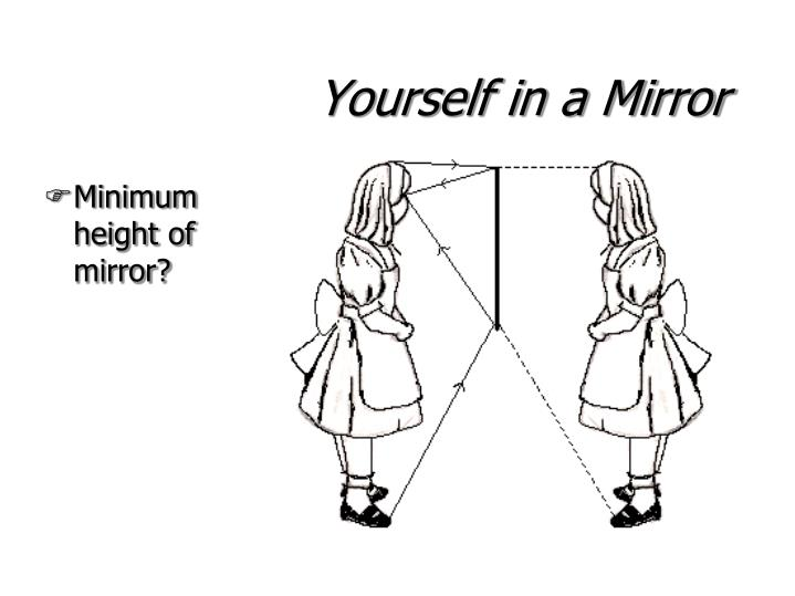 Yourself in a Mirror