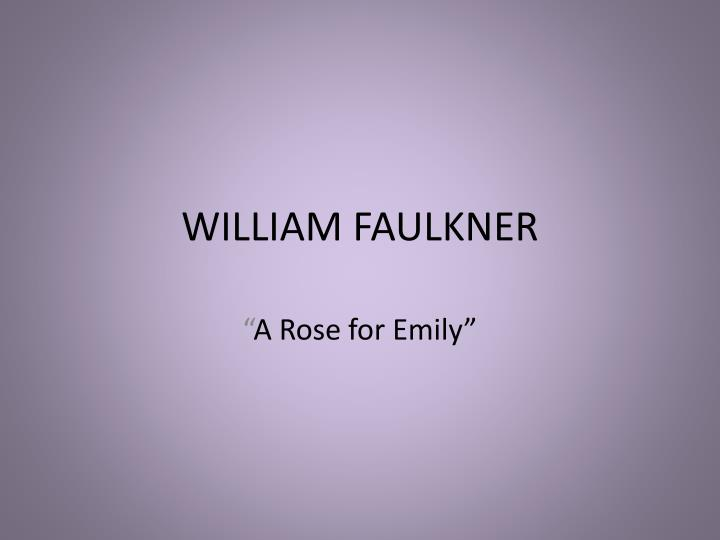 an analysis of the archetypes in a rose for emily a short story by william faulkner