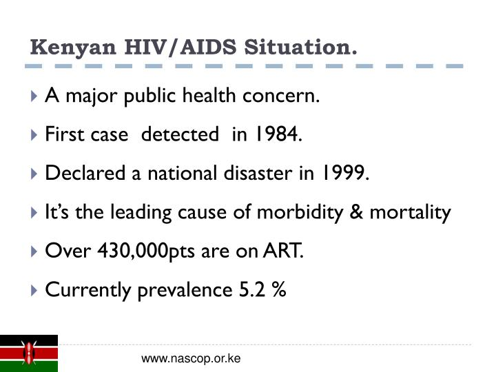 Kenyan hiv aids situation