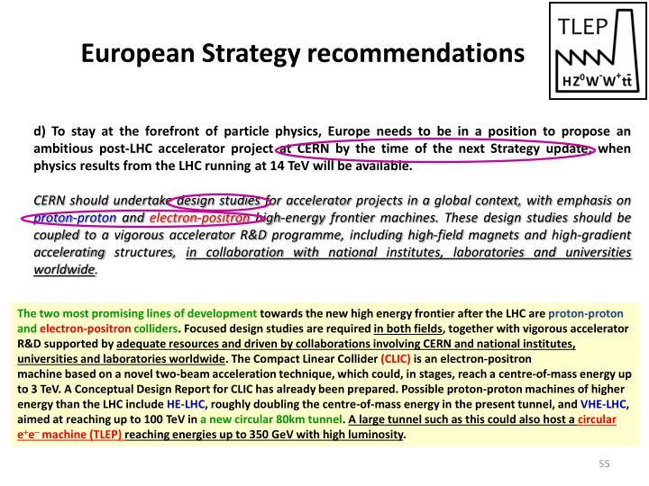 European Strategy r