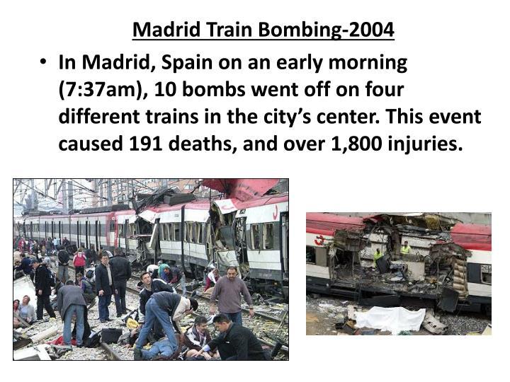 Madrid Train Bombing-2004