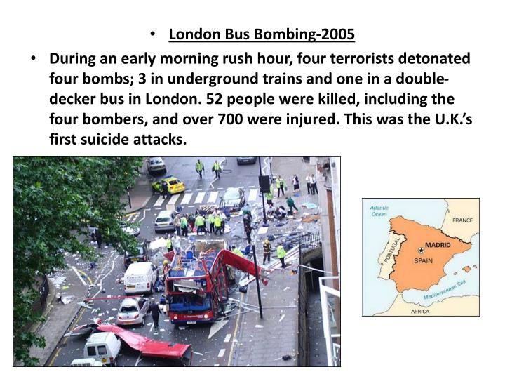 London Bus Bombing-2005