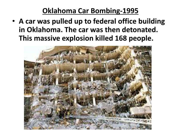 Oklahoma Car Bombing-1995