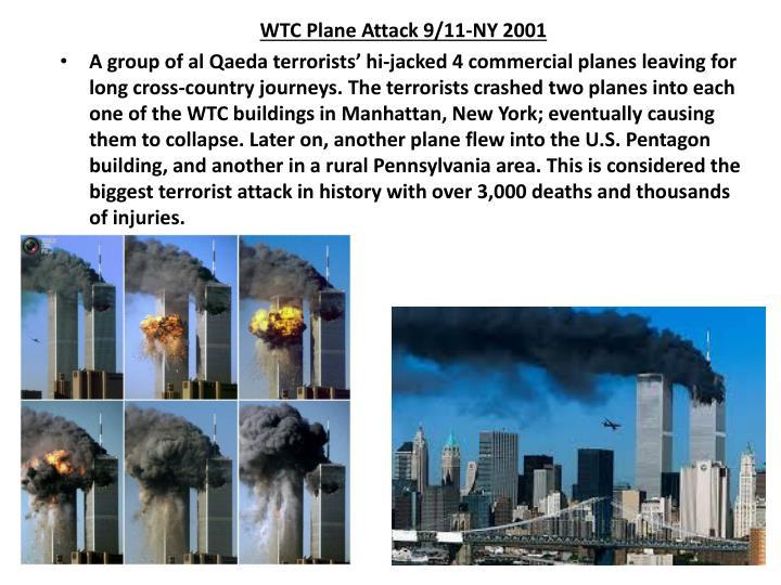 WTC Plane Attack 9/11-NY 2001