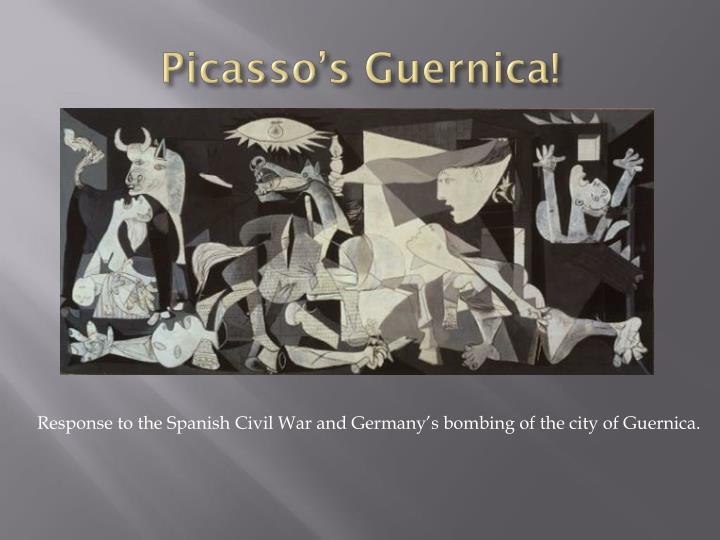 Picasso's Guernica!