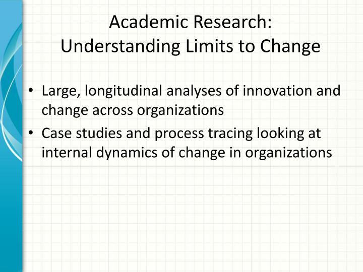 Academic Research:
