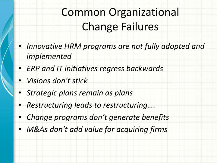 Common Organizational