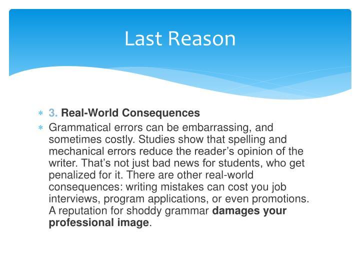 Last Reason