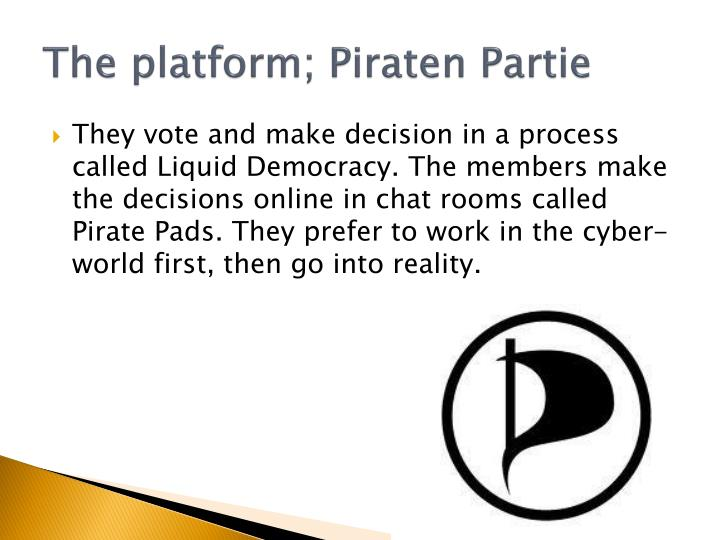 The platform;