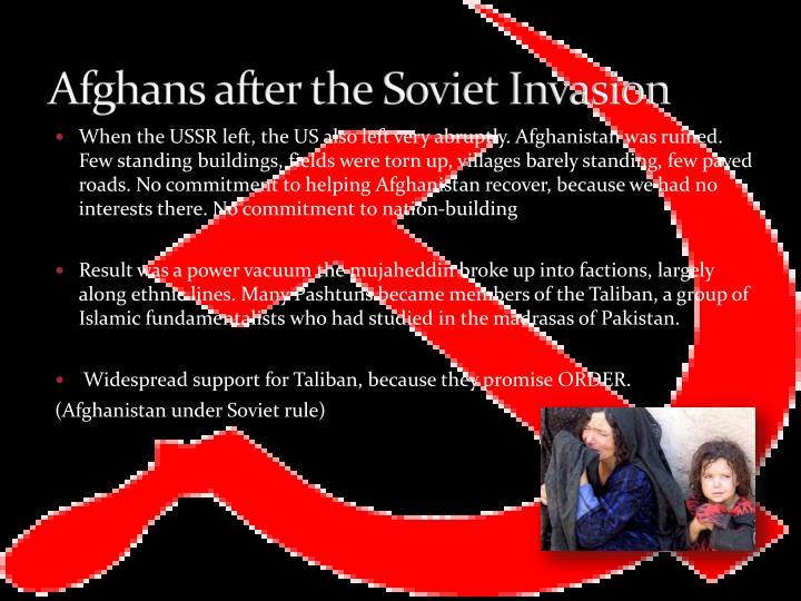 Afghans after the Soviet Invasion