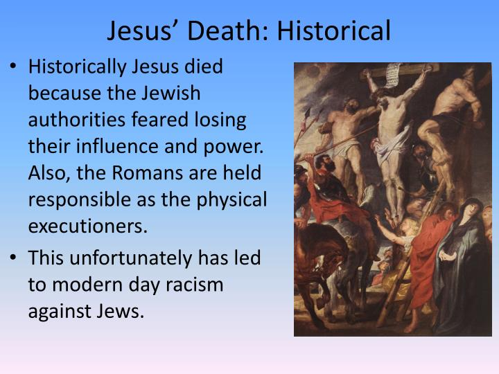 Jesus' Death: Historical