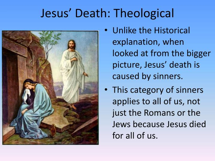 Jesus' Death: Theological