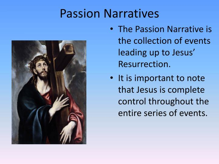 Passion Narratives