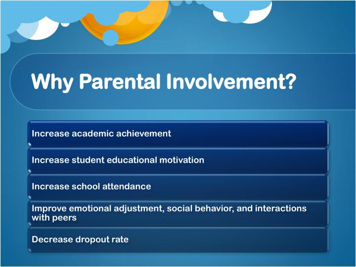Why Parental Involvement?