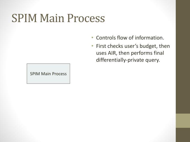 SPIM Main Process