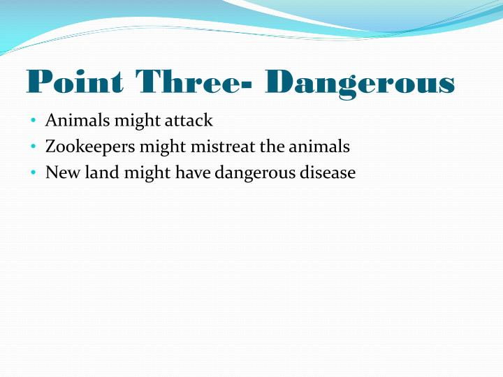 Point Three- Dangerous