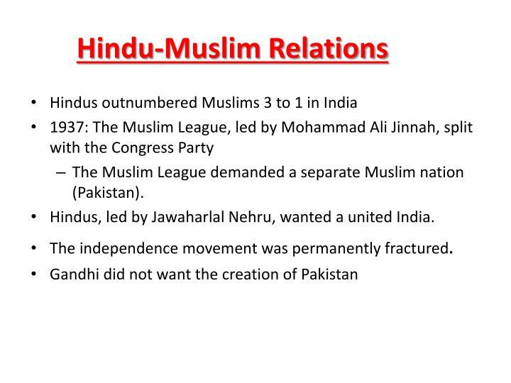 Hindu-Muslim Relations