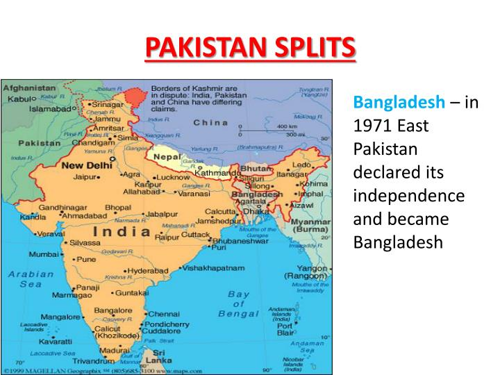 PAKISTAN SPLITS