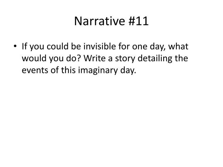 Narrative #11