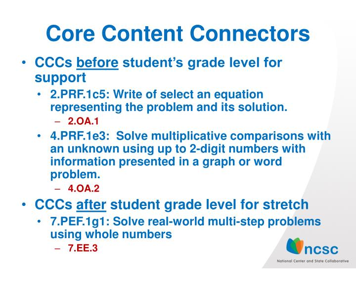 Core Content Connectors