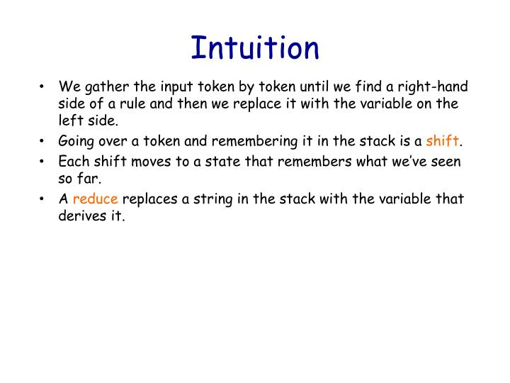 Intuition