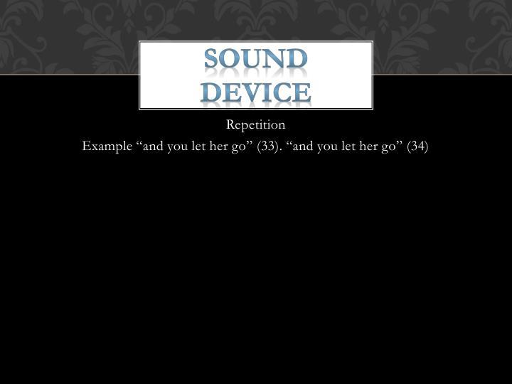 Sound Device