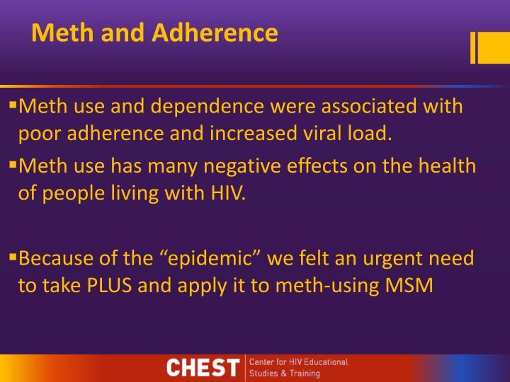 Meth and Adherence