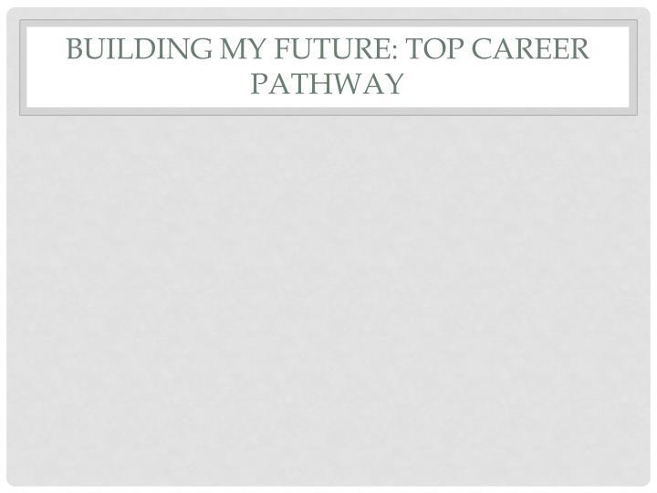 Building My Future: Top Career Pathway