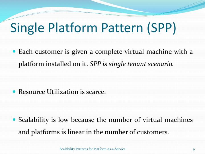 Single Platform Pattern (SPP)