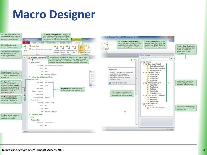 Macro Designer