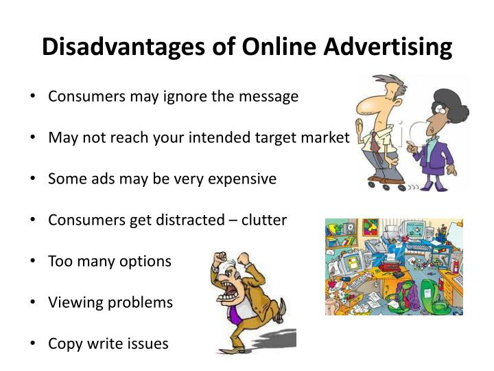 Disadvantages of Online Advertising