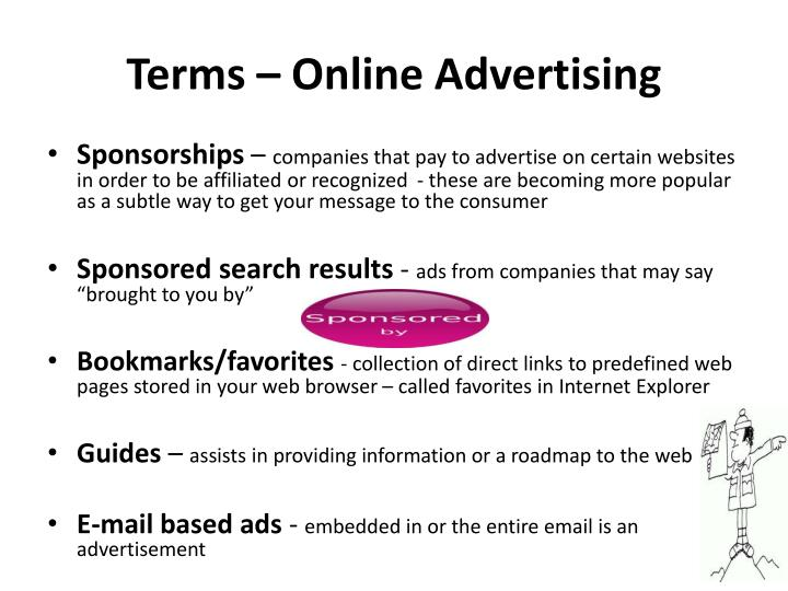 Terms – Online Advertising