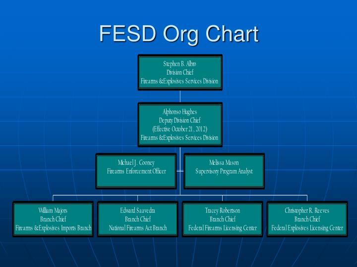 FESD Org Chart