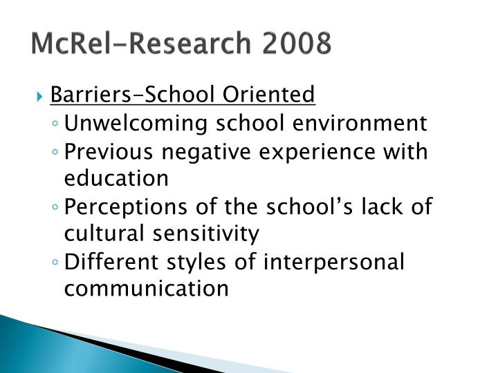 Mcrel research 20081