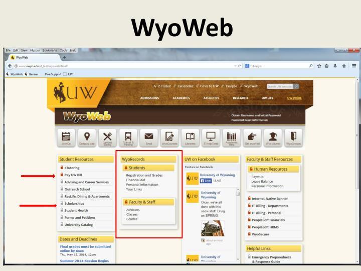 WyoWeb