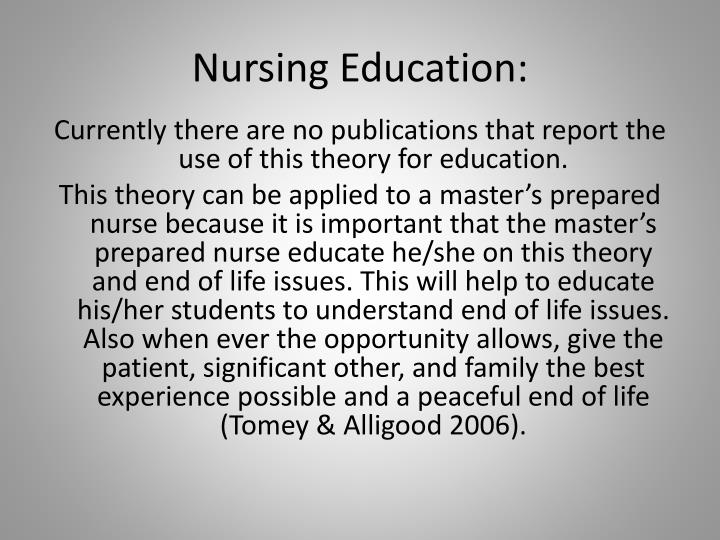 Nursing Education: