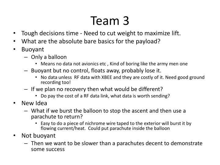 Team 3