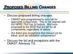 proposed billing changes1