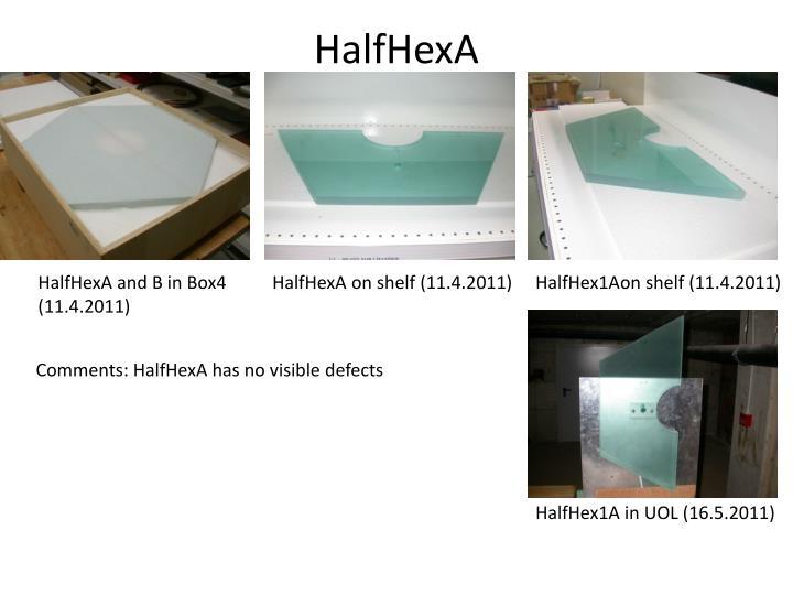 HalfHexA